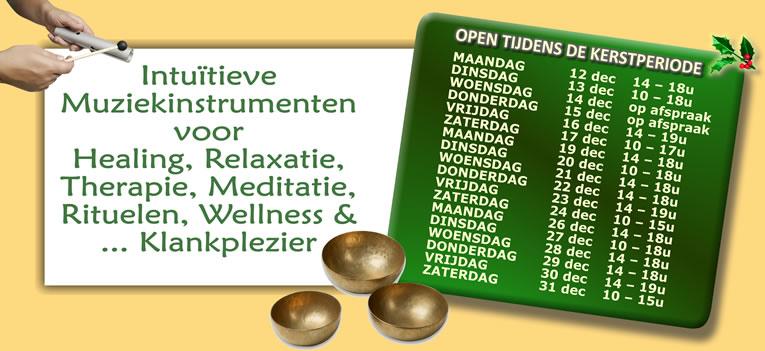 Intuïtieve muziekinstrumenten voor healing, relaxatie, therapie, meditatie, rituelen, wellness & ... klankplezier